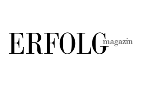 Erfolgsmagazin Logo Black